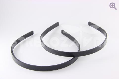 Ободок 10мм (пластик) черный