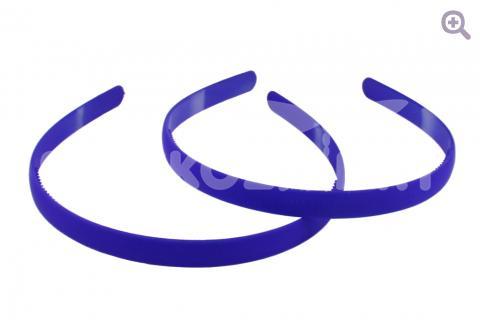 Ободок матовый 12мм, цвет: синий