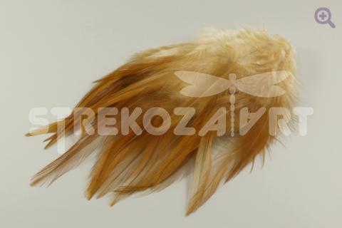Перья петуха 10-15см, цвет: натуральный, 10шт