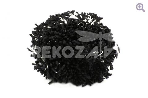 Тычинки сахарные 2мм, цвет: черный, 10шт