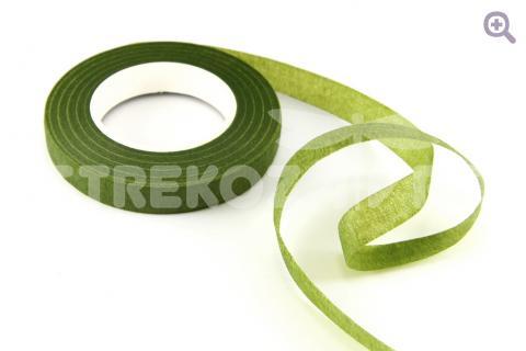 Тейп-лента 12мм, цвет: светло-зеленый (27м)