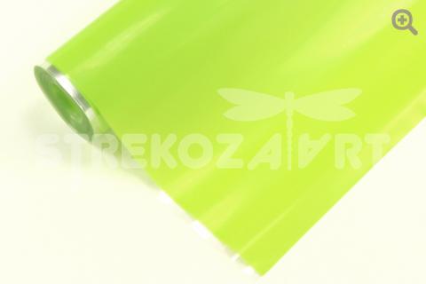 Пленка матовая,0,6м, цвет: светло-салатовый