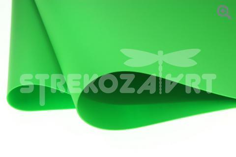 Фоамиран (Иран) 50*50 толщина 1мм, цвет: ярко-зеленый