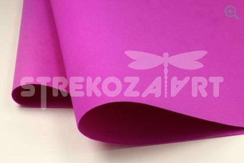 Фоамиран (Иран) 50*50 толщина 1мм, цвет: пурпурный