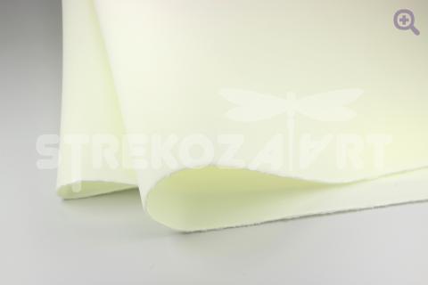 Фоамиран зефирный (Китай) 50*50 толщина 1мм, цвет: кремовый