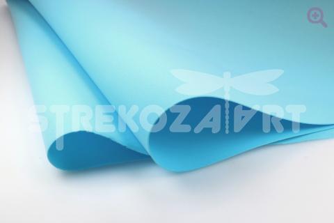 Фоамиран (Иран) 60*70см, цвет: голубой