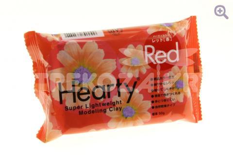 Глина Hearty Red, 50гр, цвет: красный