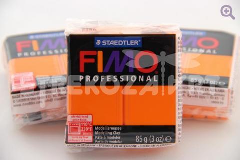 Полимерная глина Fimo Professional оранжевый, 85гр