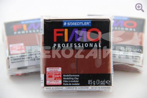 Полимерная глина Fimo Professional шоколад, 85гр