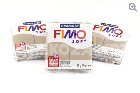 Полимерная глина Fimo Soft тауп 56гр