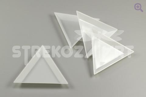 Лоток для работы с бисером, стразами, бусинами длина стороны=73мм, глубина=10мм
