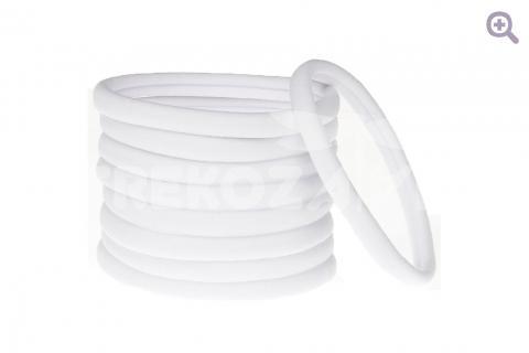 Повязка-основа бесшовная 1см, цвет: белый