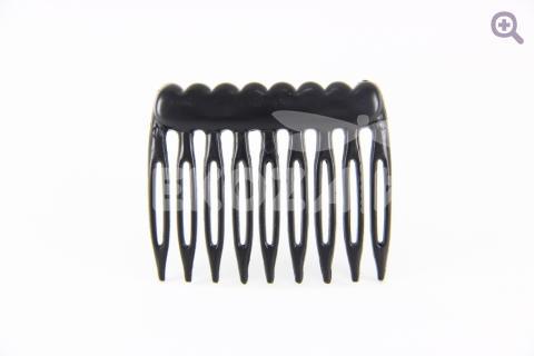 Гребень для волос 5см (пластик) черный