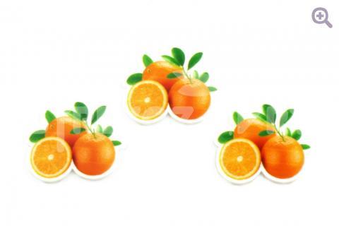 """Кабошон плоский """"Апельсины"""", 32*28мм"""