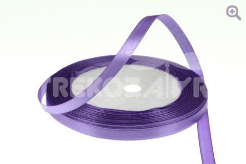 Лента атласная 6мм, цвет: светло-фиолетовый