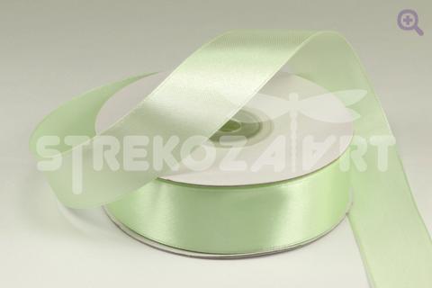 Лента атласная 6мм, цвет: яблочно-зеленый