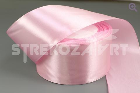 Лента атласная 50мм, цвет: чайная роза