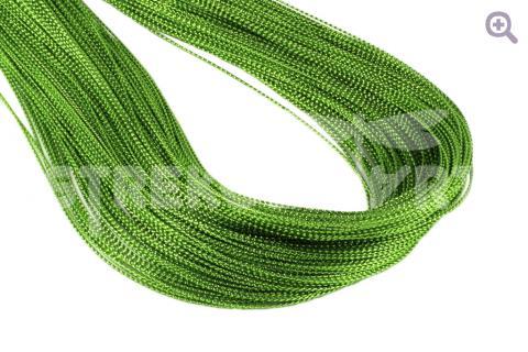 Шнур декоративный (круглый), 1мм, цвет: цитрус