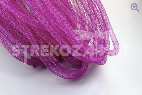 Шнур-сетка d-4мм нейлон, цвет: лиловый
