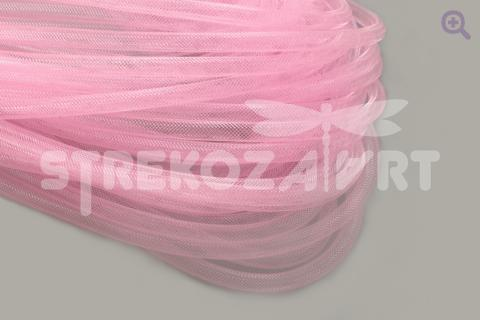 Шнур-сетка d-8мм нейлон, цвет: розовый