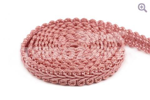 Тесьма Шанель 13мм, цвет: пыльно-розовый