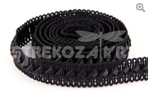 Тесьма Cамоса 20мм, цвет: черный