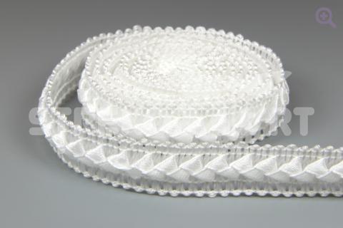 Тесьма Cамоса 18мм, цвет: белый