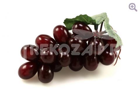 Виноград  (d=13-14см), цвет: тёмно-бордовый