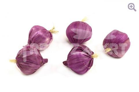 Лучок декоративный, бумага 30мм, цвет: фиолетовый