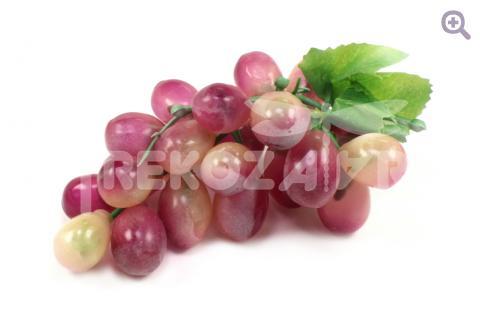 Виноград натуральный (d=14-15см), цвет: лиловый