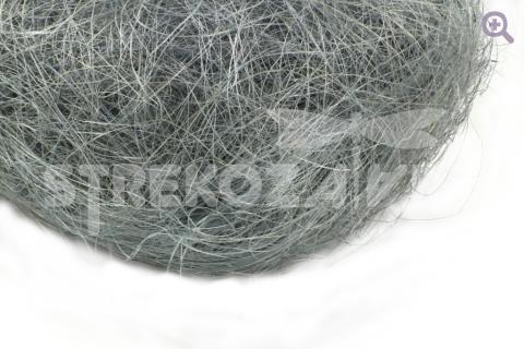Сизалевое волокно, цвет: серый, 90-100гр