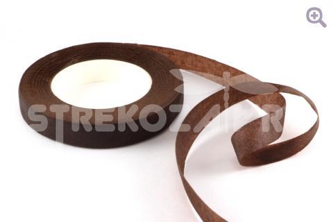 Тейп-лента 12мм, цвет: светло-коричневый (27м)