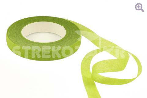 Тейп-лента 12мм, цвет: оливковый (27м)