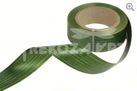 Лента аспидистр, 40мм, цвет: зелёный
