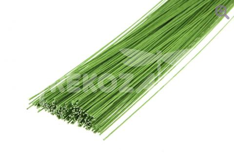 Проволока флористическая, 0,5мм, цвет: зеленый