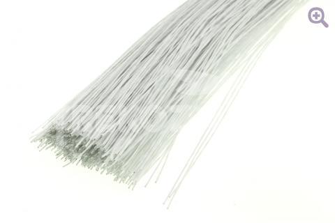Проволока флористическая, 0,7мм, цвет: белый