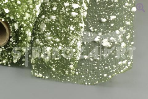 Сетка снег 52см (50см), цвет: темно-зеленый 22