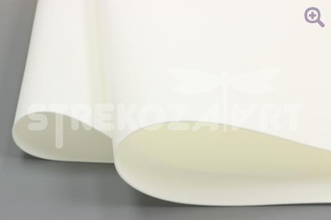 Фоамиран (Иран) 60*70см, цвет: белый
