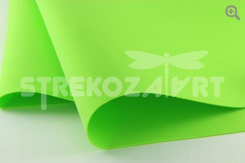 Фоамиран (Иран) 50*50 толщина 1мм, цвет: светло-зеленый
