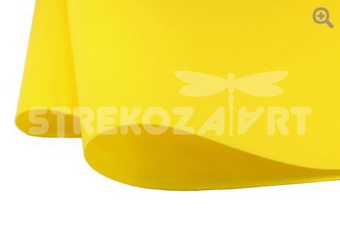 Фоамиран зефирный (Китай) 49*49см, толщина 1мм, цвет: медовый