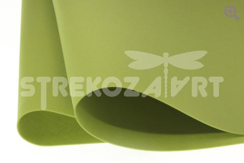 Фоамиран (Иран) 60*70см, цвет: оливковый