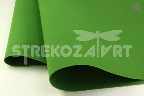 Фоамиран Иран, цвет: темно-зеленый