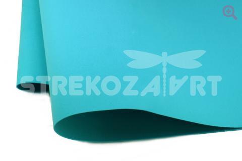 Фоамиран (Иран) 60*70 толщина 1мм, цвет: бирюзовый
