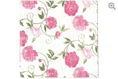 """Салфетка для декупажа 33*33см, 315 """" Розовые цветы"""""""