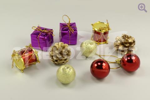 Набор елочных украшений Рождественский подарок