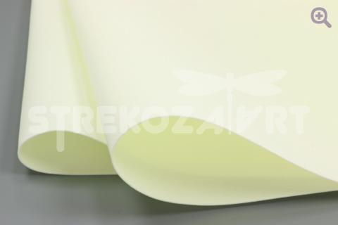 УЦЕНКА: Фоамиран (Иран) 60*70см, цвет: светлый лимон