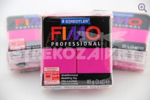 Полимерная глина Fimo Professional чисто-пурпурный, 85гр