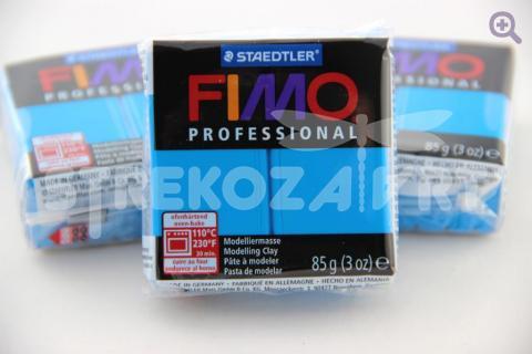 Полимерная глина Fimo Professional чисто-синий, 85гр