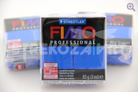 Полимерная глина Fimo Professional ультрамарин, 85гр СТАРЫЙ ПРИХОД