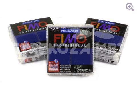 Полимерная глина Fimo Professional нэви, 85гр